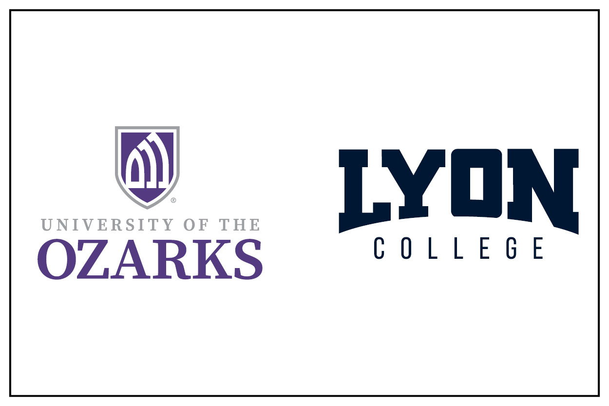 University of the Ozarks and Lyon College logos