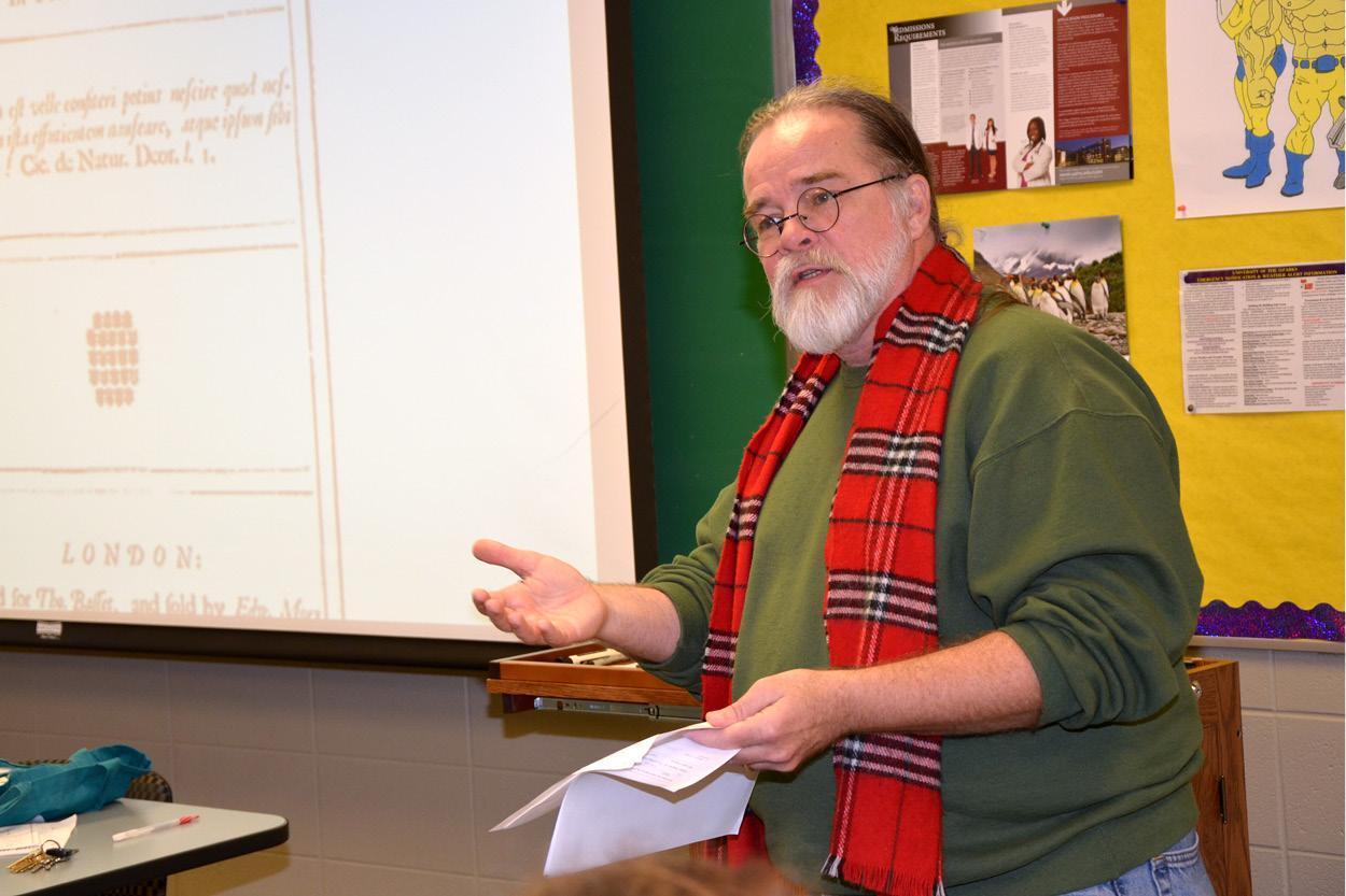 Professor Eakin Announces Retirement