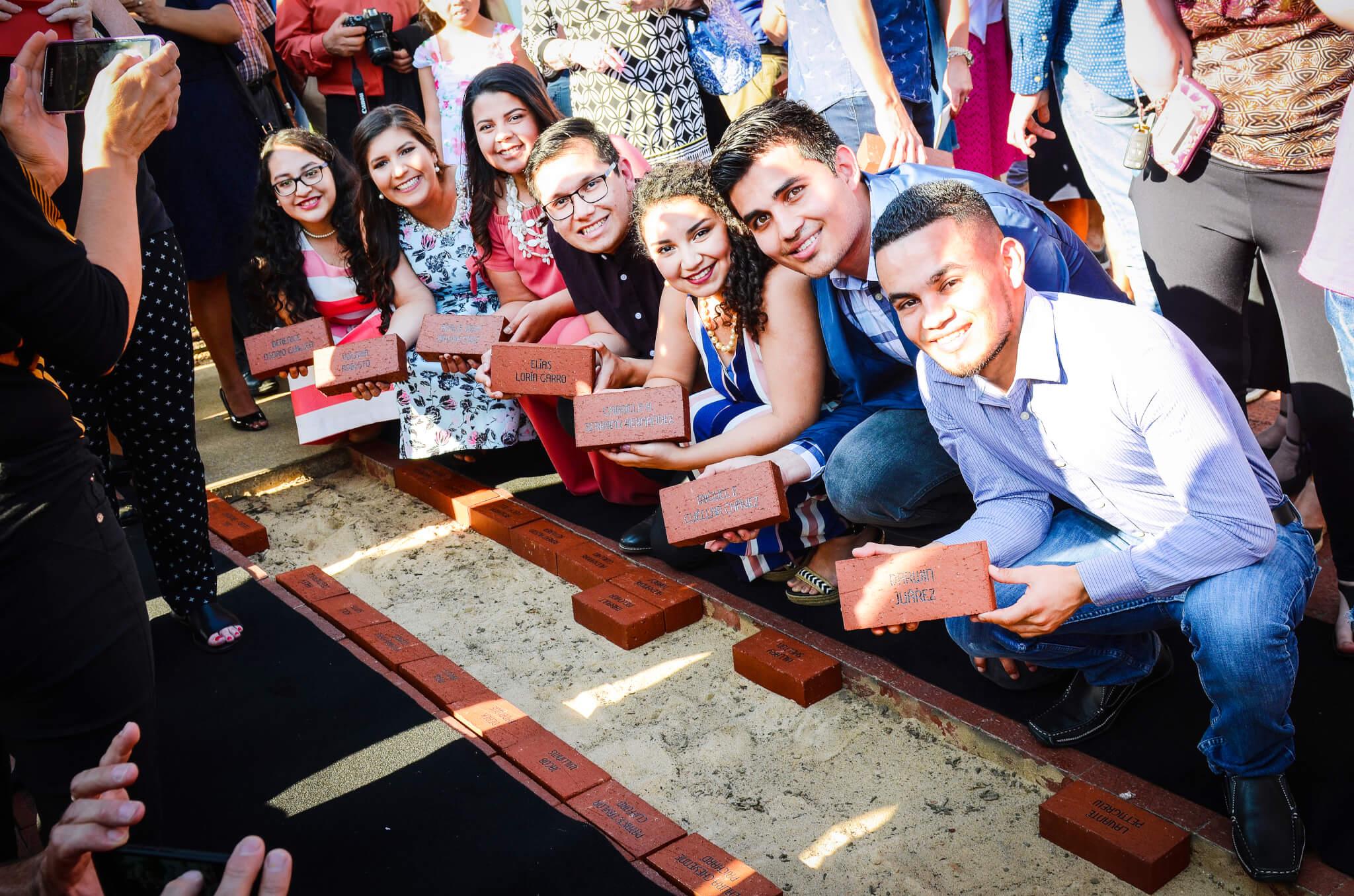 Alumni Brick Plaza