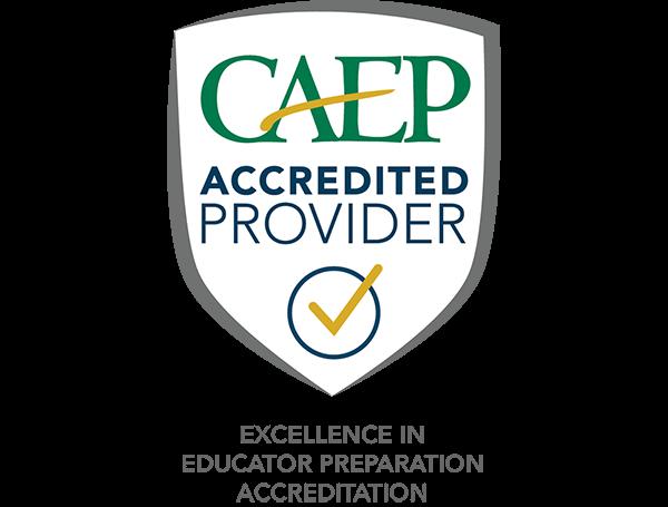 CAEP accredited logo