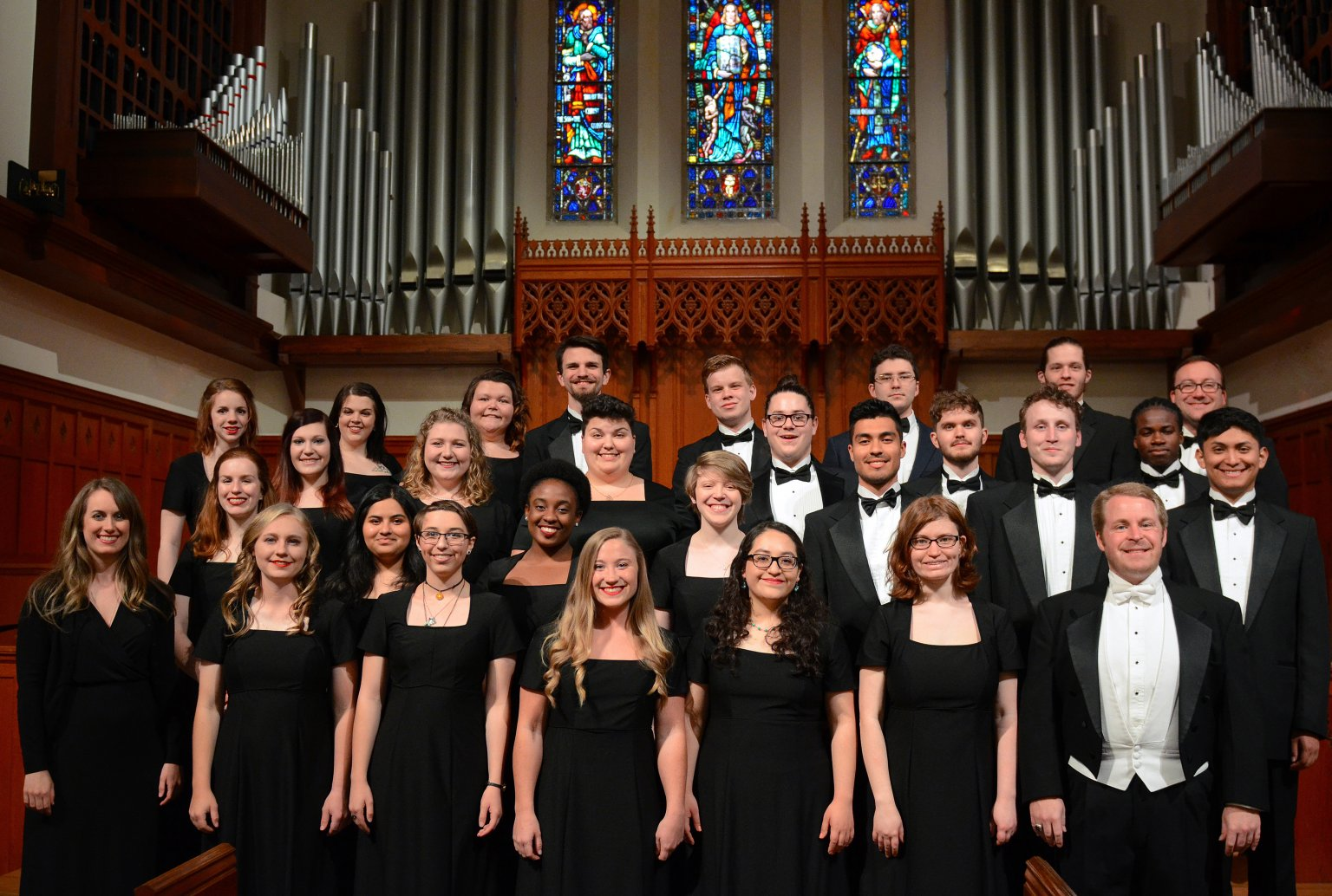 """Chamber Singers Spring Concert (""""Music of the Spheres"""")"""