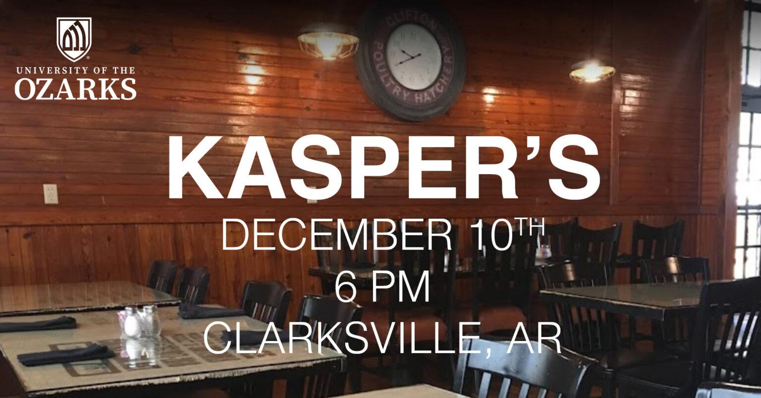 Alumni Event – Kasper's