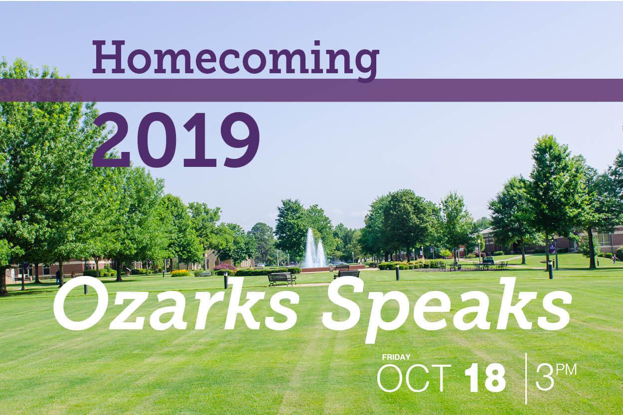 Homecoming Speakers
