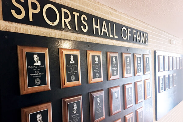 Six To Be Inducted Into Sports Hall of Fame