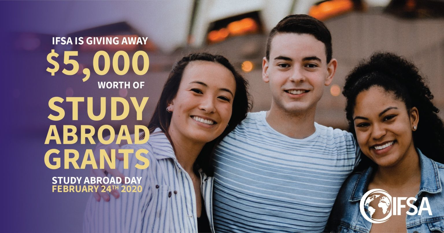 IFSA is Giving Away $5,000 for Study Abroad Day!