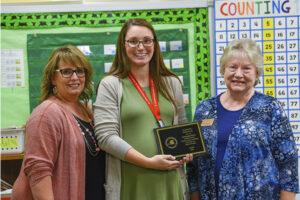 Crook Receives Teacher Mentor Award