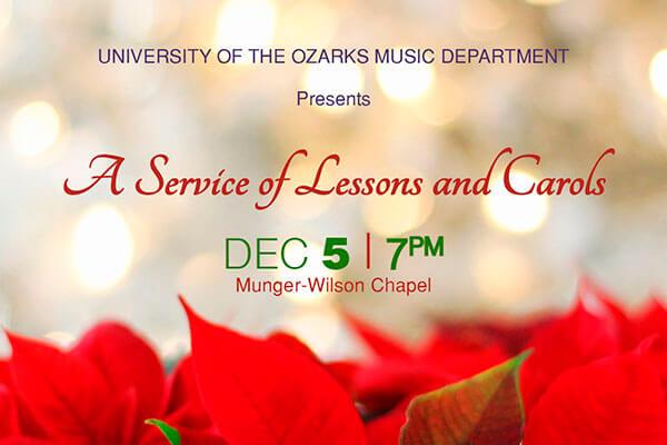 Lessons and Carols set for Dec. 5