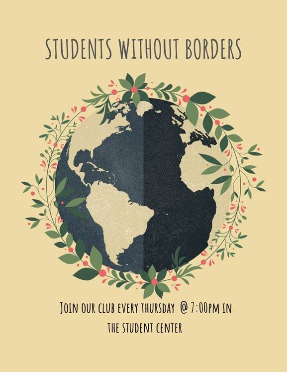 Students Without Borders – Weekly Club Meeting