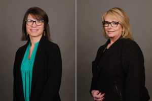 Dr. Allison Freed and Pam Smith