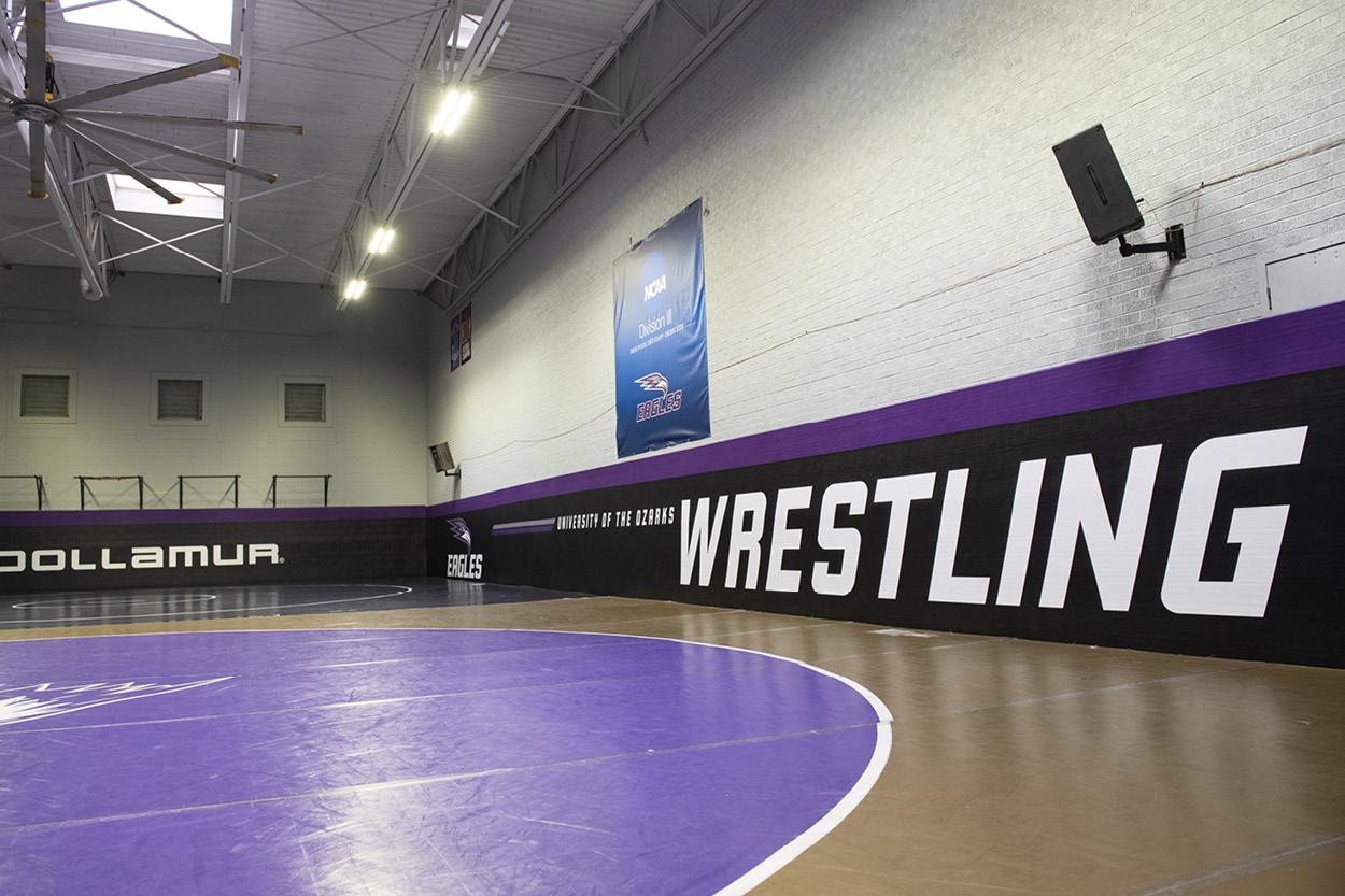 Wrestling facility